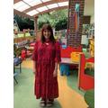 Mrs Langham- Teaching assistant in Beech Class