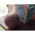 Mali's Easter basket & egg