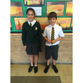 Francesca and Louis, our Head Girl & Boy