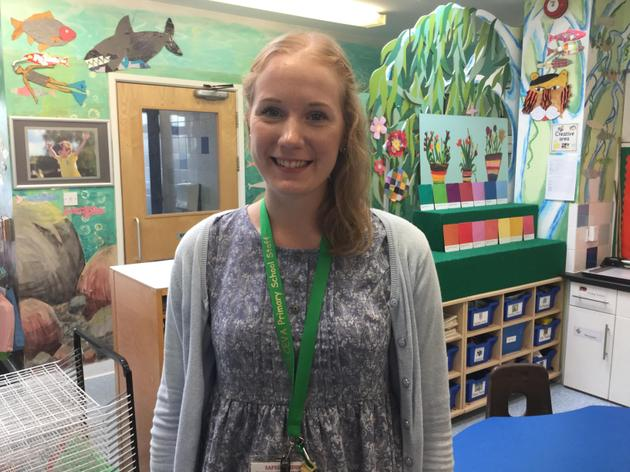 Mrs Lawrence is a teaching assistant.