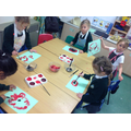 Painting our poppies