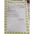 Leah's poem