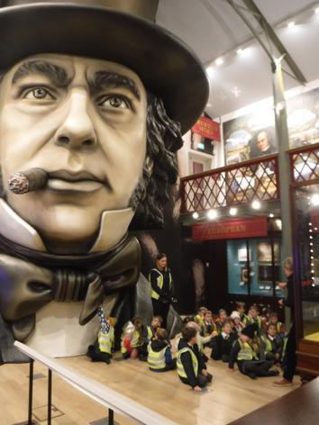 In the Brunel Museum