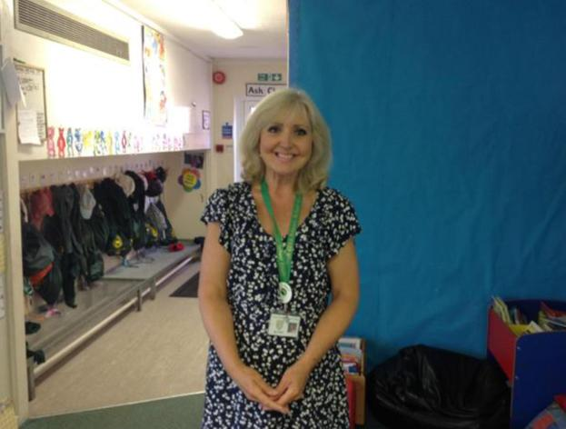 Mrs Fish is our class HLTA.