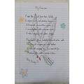 Daisy's Peace Poem
