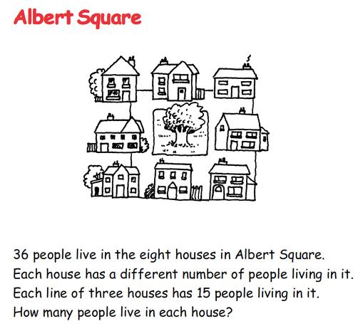 Albert Square - Number
