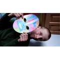 William's Maya mask