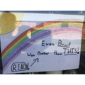 Archie's rainbow- too true!