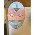 Ellie's Maya mask