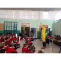 Miss Bowers talks about pole gymnastics!