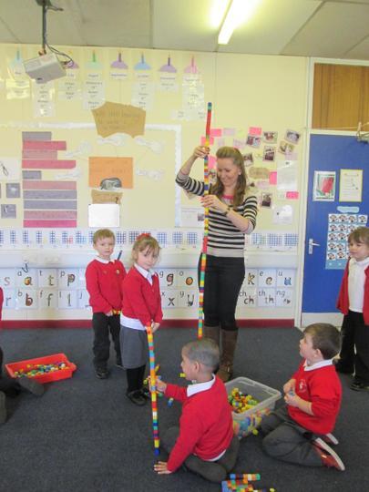 It's taller than Miss Johnstone