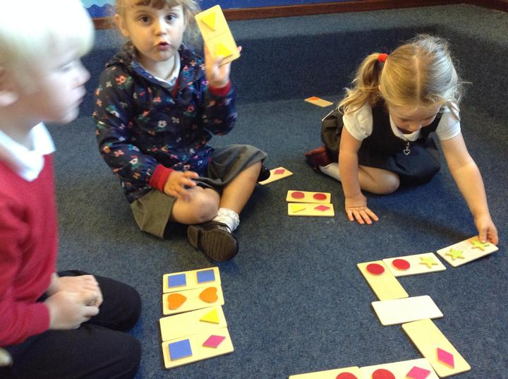 Playing shape games