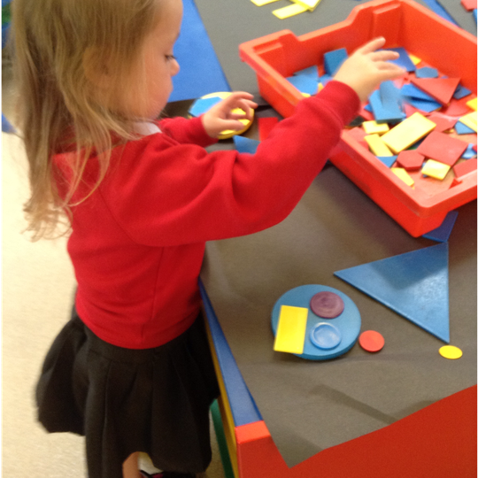 Making pictures with 2D shapes