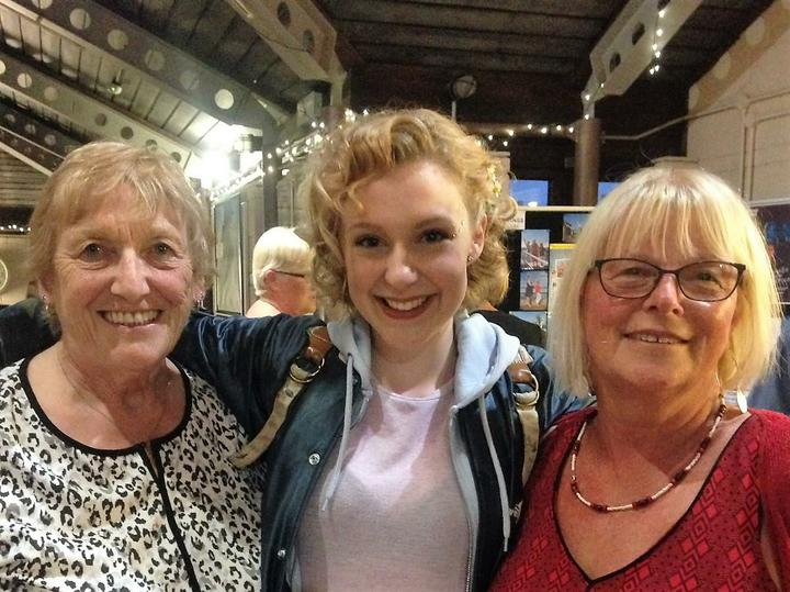Katie  performs at The Maltings July 2017