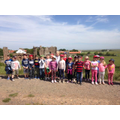 Class 1 visit to Lindisfarne.
