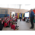 A visit from the author Gary Paulin