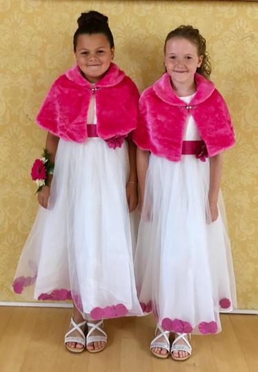 Junior attendants from Class 4