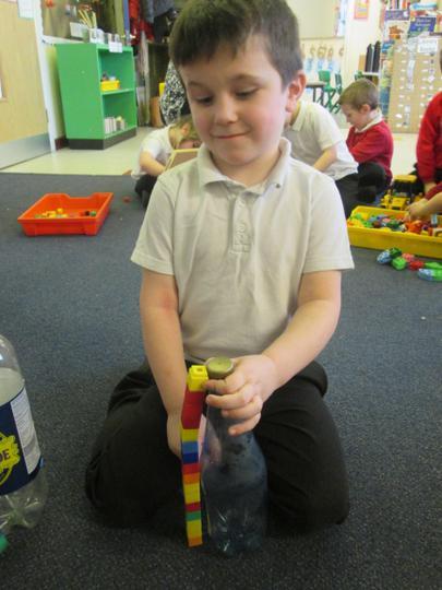 Using the rainbow blocks to measure
