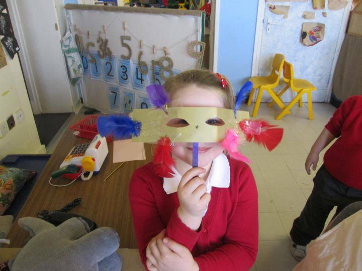 My fancy mask!