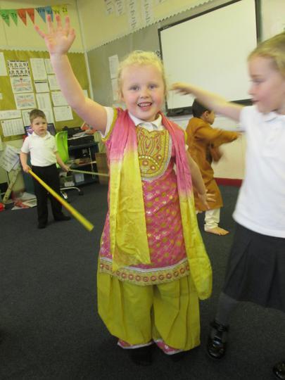 Dancing in a Kurti