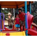 Playing in the park, Mumbai