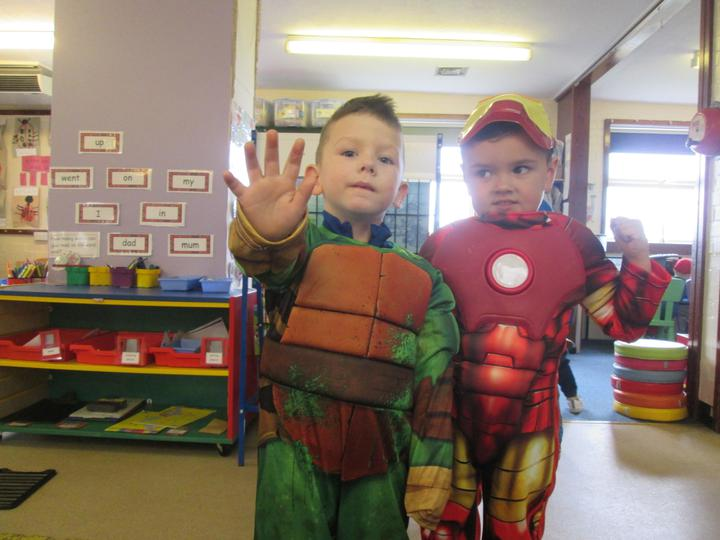 1 Super Turtle and 1 Ironman