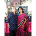 Manjusha Swami and Mrs Armstrong