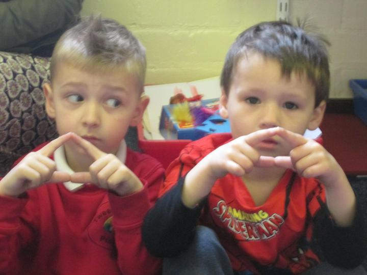 Making a triangle with three sides