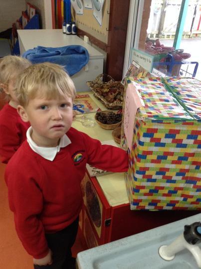 Feely box fun!