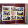 Our partnership on display with Derbyshire  school