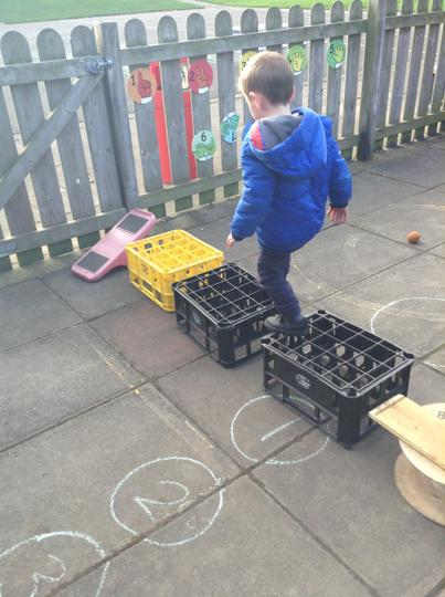 Using obstacle courses to help us learn our positional language