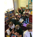 Paired reading with Year 3