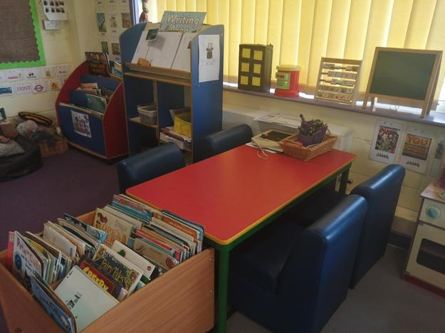 Our writing area