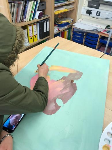 Creative therapeutic art...