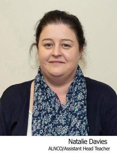 Natalie Davies Assistant Head Teacher and Deputy Safeguarding Officer