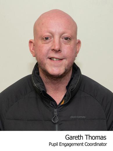 Gareth Thomas Pupil Engagement Coordinator