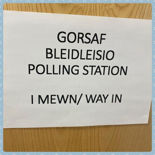 Welcome to the polling booth for our secret ballot!