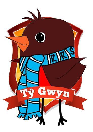Robin Gwyn is our RRS mascot