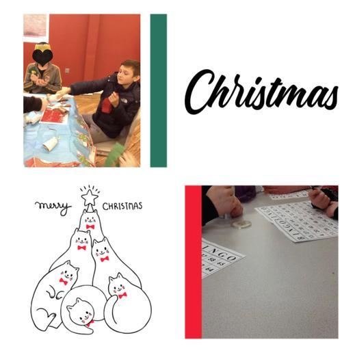 Christmas bingo fun 🤩 Where are those big prizes Mrs Davies?!