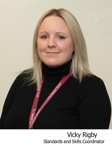 Vicky Rigby Standards and Skills Coordinator