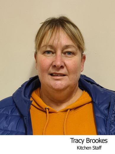 Tracey Brookes Ancillary staff