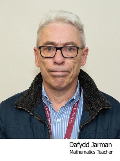 Dafydd Jarman Teacher