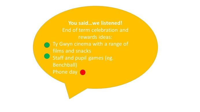 We did have our end of term rewards but a  slightly amended version due to restrictions :)