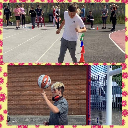 Hoops and running in Bevan class 🏃🏻♀️ 🏃♂️ 🏃