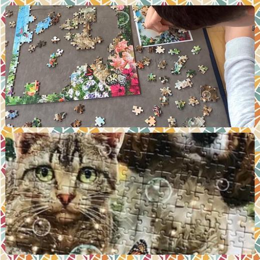 Jigsaw puzzling 🤨