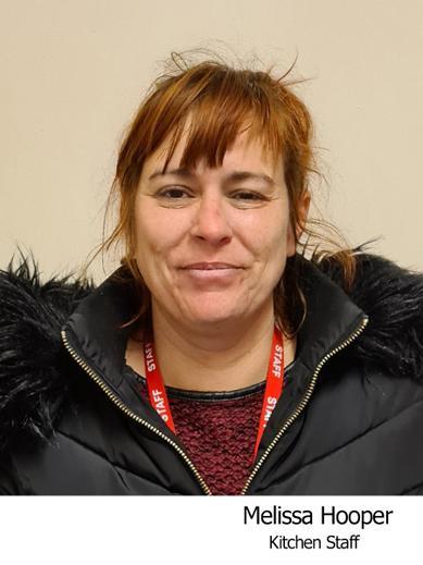 Melissa Hooper Ancillary staff