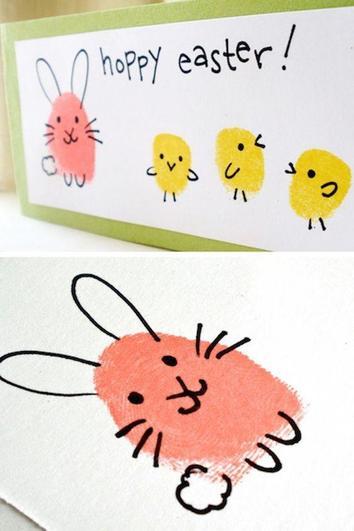 An easy Easter card.