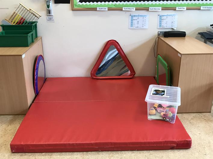 We've created safe play areas.