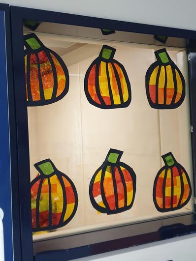 Pumpkin Window art