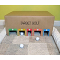 Target golf, roll throw push, hit the balls